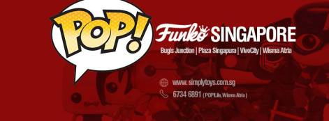 Funko ขายที่ไนใน Singapore