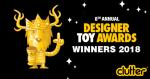 Designer toys award winner 2018 คือ ขาย ดีที่สุด รีวิว ร้าน