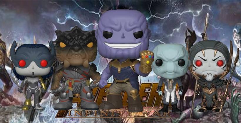 Funko Pop เหล่าตัวร้าย Avengers infinity war ภายใต้ชื่อที่ว่า Black Order ขาย ราคา รีวิว