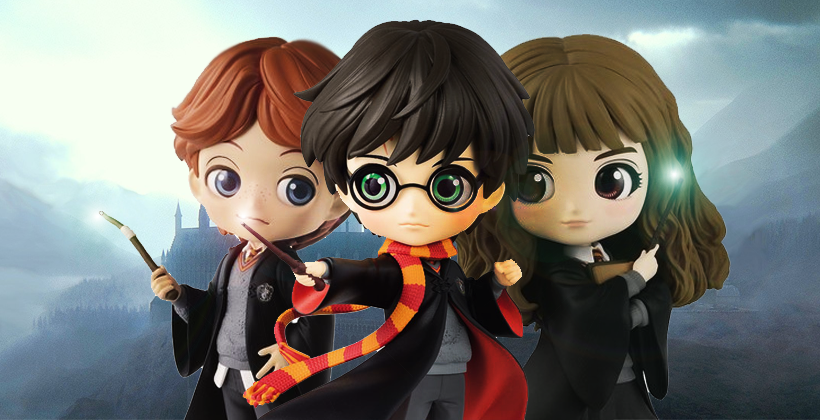 ขาย Q Posket Harry Potter Ron weasley Hermione Granger ราคา รีวิว