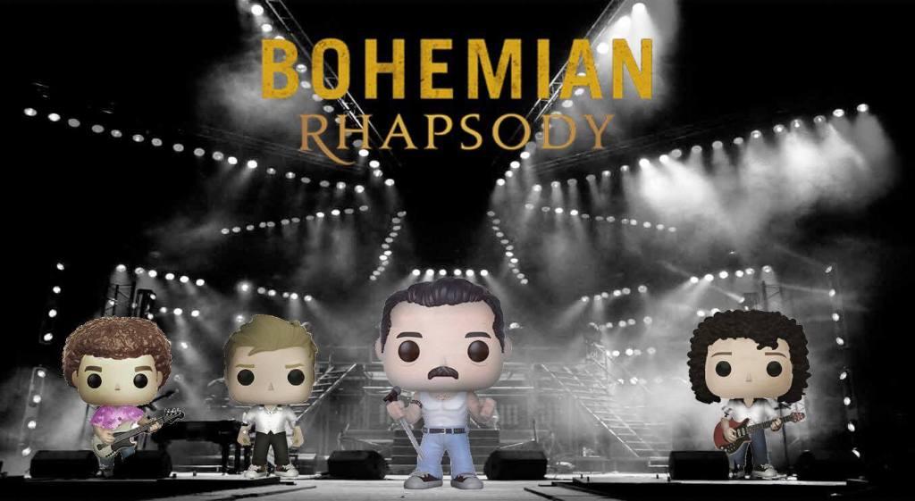Bohemian Rhapsody Queen funko ขาย custom art รีวิว