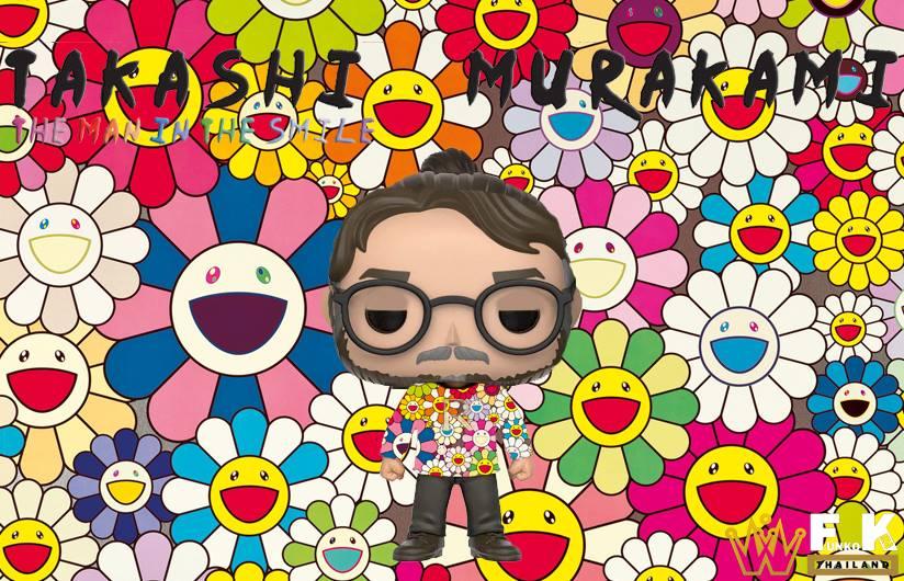 funko pop murakami ขายดอก flower